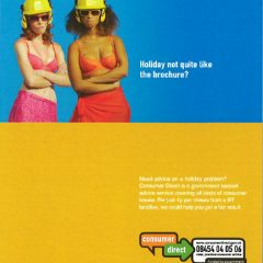 advertising stylist bikinis hard hats