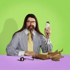 advertising stylist man shaver beard