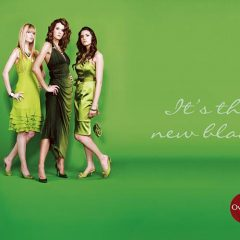 Commercial Stylist Green Dresses Shop