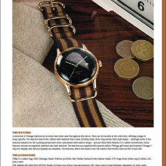 editorial image styling watch money clock accurist