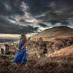 grooming hair wig costume castle historic scotland