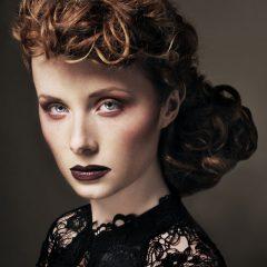 grooming makeup artist scotland period chignon