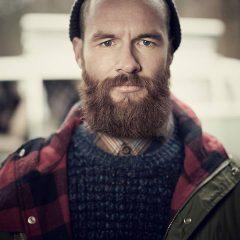 lifestyle stylist beard parka beanie lifestyle
