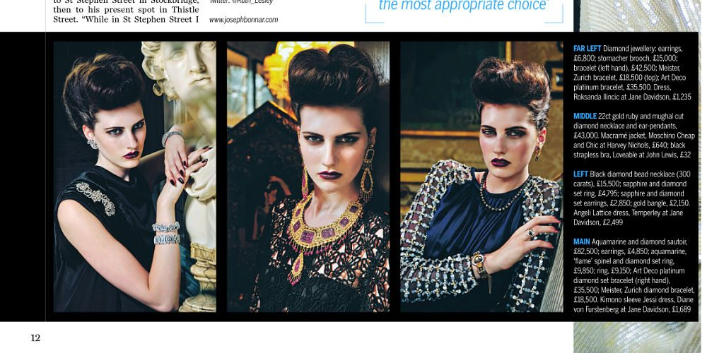 editorial stylist antique jewellery joseph bonnar